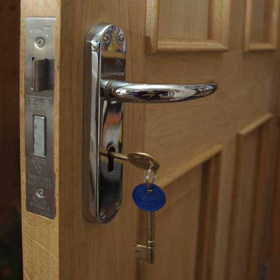 Exterior Door Locks : Wave sound security llc